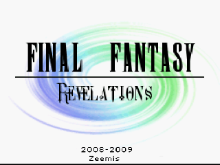 Screenshot Thumbnail / Media File 1 for Final Fantasy III (USA) [Hack by Zeemis v1.0] (~Final Fantasy - Revelations)